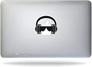 DJ Headphones- Decal Sticker for MacBook, Air, Pro All Models