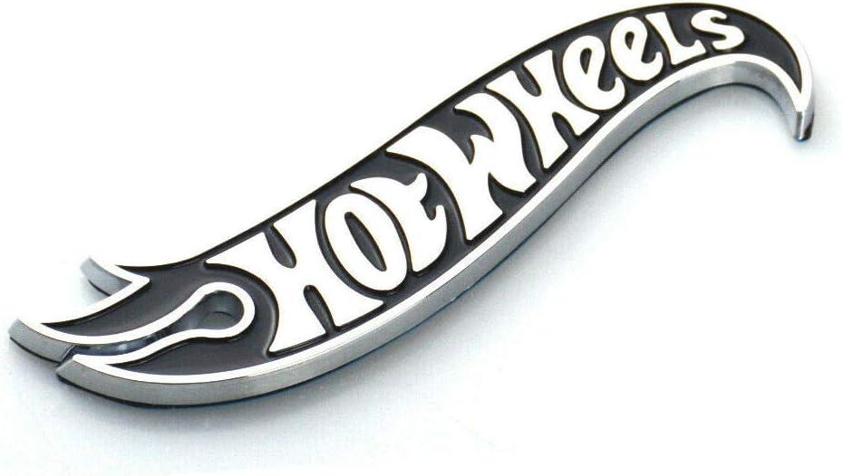 2 Fit For Chevy Camaro Hot Wheels Edition Deck Lid Emblem Badge Gen uine Black