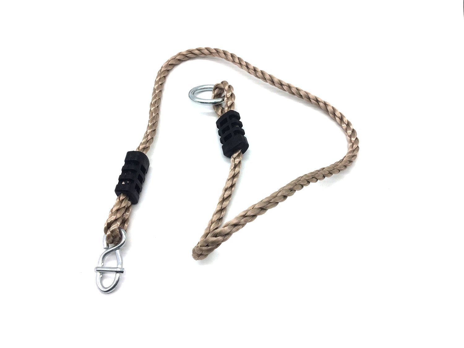 A AIFAMY Tree Swing/Hammock Hangings Safer Nylon Rope,Tree Swing Hanging Strap Kit(Holds Up to 650 Lbs.) -Pack of 2(Adjustable)