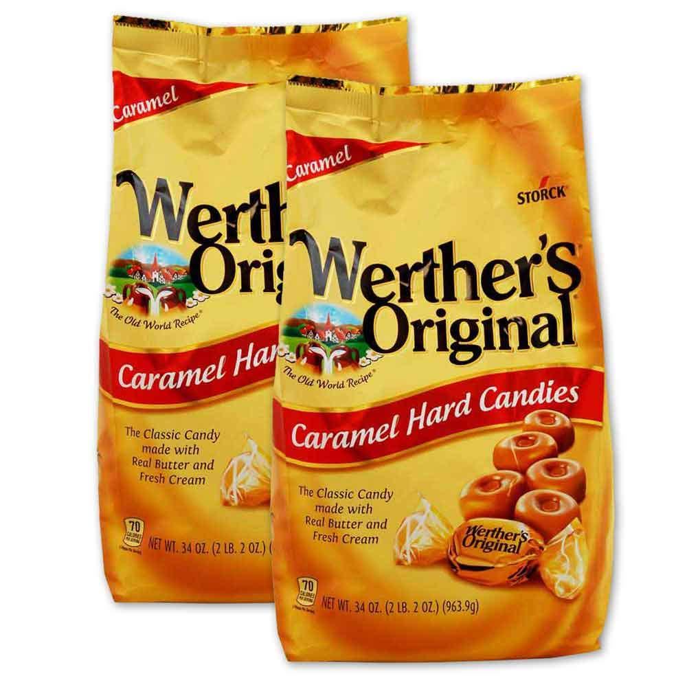Werther's Original 2-34 oz bags Caramel by Werther's
