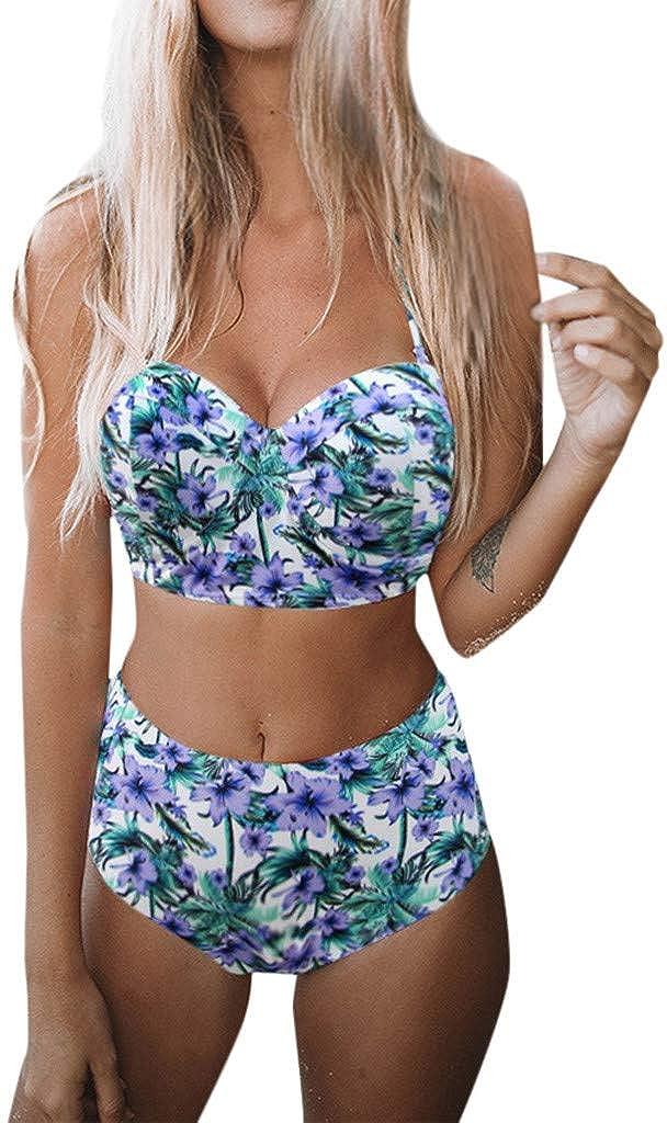 Mujer Conjunto Bikini Bathing Suit Acolchado Hacer Subir Sost/én Traje de Ba/ño Swimwear Ropa de Playa