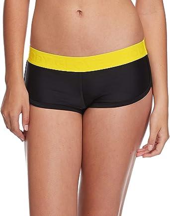 a1a7ba6bc1d41 Amazon.com  Body Glove Women s Sidekick Sporty Bikini Bottom Swimsuit Short   Clothing