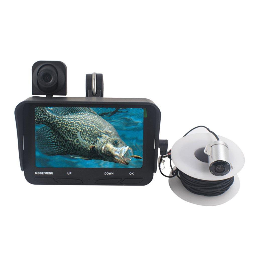 DZQ Fisch-Sucher 1280 * 720 HD Unterwasserinspektionskamera-Tragbare ...