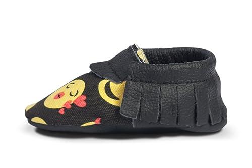 BirdRock Baby BirdRock bebé mocasines de suela blanda de cuero niños y niñas zapatos para niños