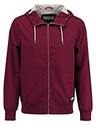 YOURTURN Windbreaker Jacket for Men Hooded Light Summer Coat ...