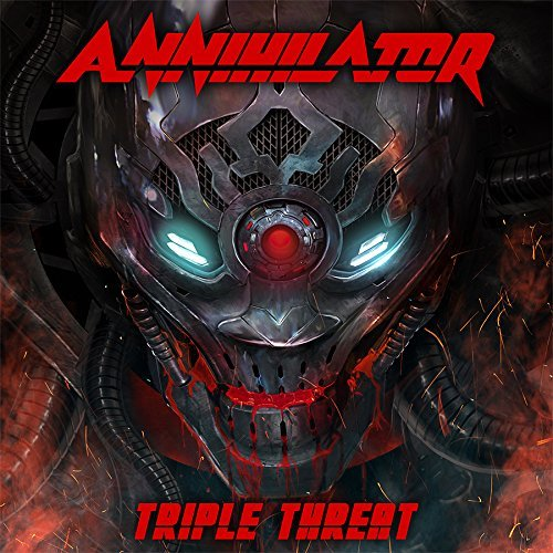 Blu-ray : Annihilator - Triple Threat (With CD, 3 Disc)