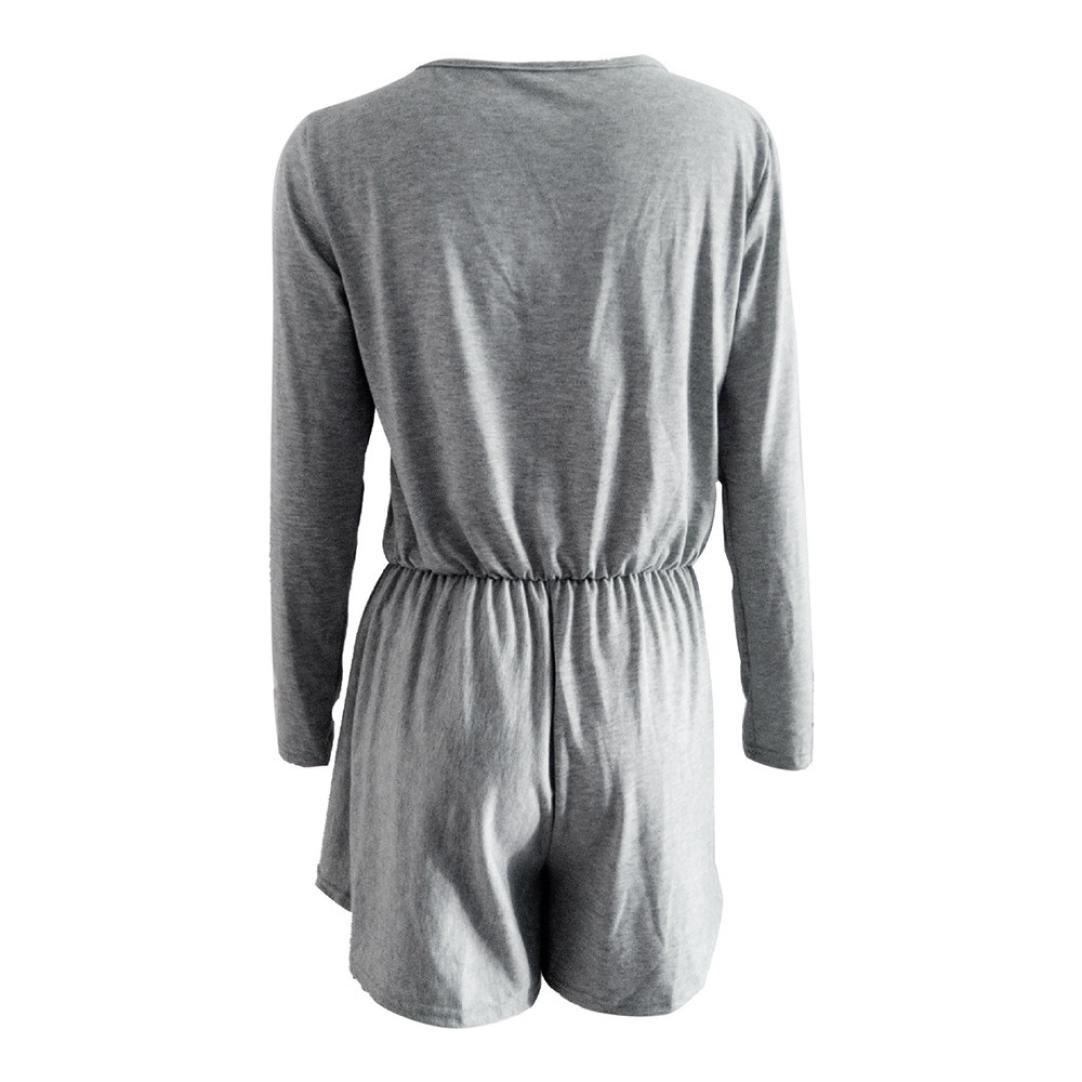 DEELIN Pantalones Cortos De Una Sola Pieza Atractivos para Mujer ...