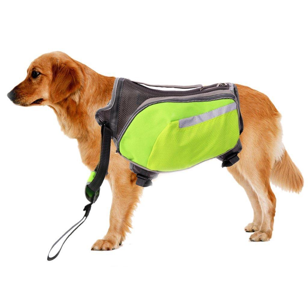CutePaw Adjustable Dog Pack Backpack Saddlebag Harness Carrier Hound Daypack by CutePaw (Image #5)