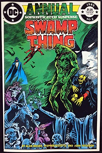 Swamp Thing Annual (1985) #2 VF/NM (9.0) Justice league Dark Alan Moore