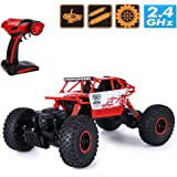 Rock Crawler 1:18 Scale 4WD 2.4 Ghz 4x4 Rally Car RC Monster Truck, Green