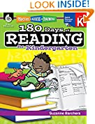 #10: 180 Days of Reading for Kindergarten (180 Days of Practice)