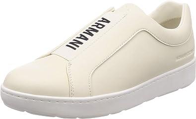 Large Logo Print Slip on Sneaker