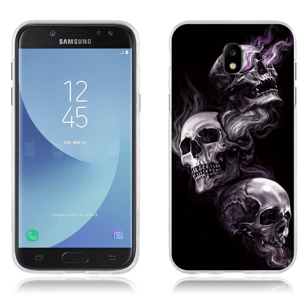 FUBAODA Funda Samsung J5 2017/J530, Carcasa Protectora de Silicona Resiste a los Ara?azos Carcasa Completamente Resistente para Samsung J5 2017/J530 (5.2') SB-1001