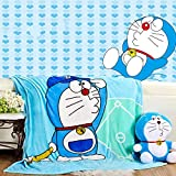 Sviuse Baby Blanket Kids Cartoon Plush Soft Warm