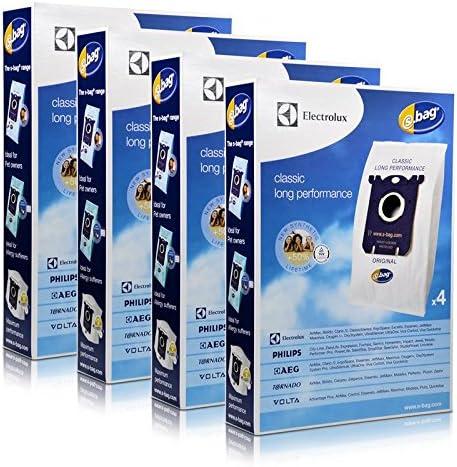 4 x Bolsas de aspiradora Electrolux Classic E201B S-Bag (4 bolsas ...