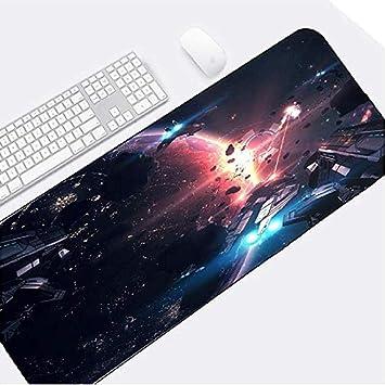 Alfombrillas Raton Creative Sci-Fi Starship Spaceship Gran Tamaño ...