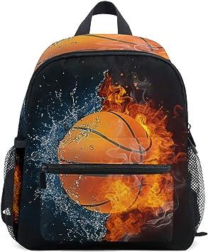 DOSHINE Mochila para niños pequeños, balón de Baloncesto ...