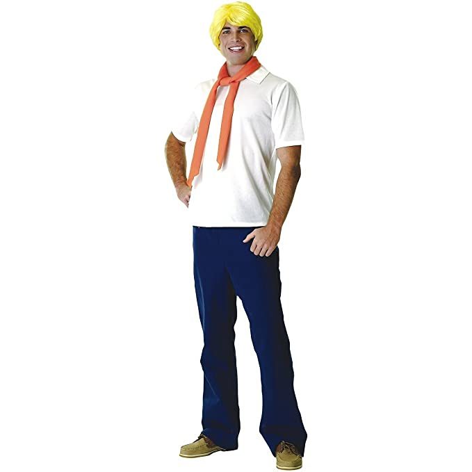 1960s Inspired Fashion: Recreate the Look Adult Fred Costume Shaggys Buddy $36.47 AT vintagedancer.com