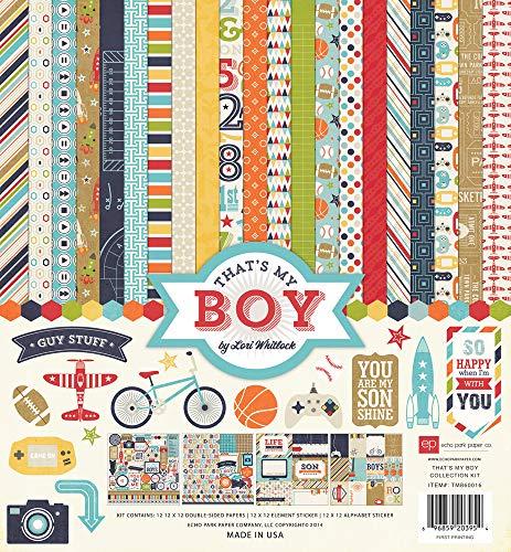 Echo Park Paper Company TMB60016 That's My Boy Kits