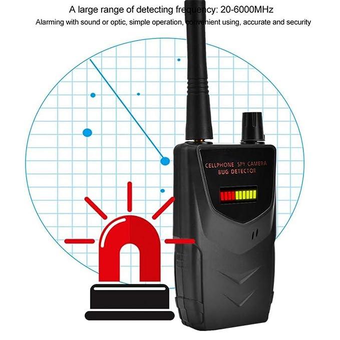 Stcamtancq Portable Detector de señal inalámbrica cámara Audio WiFi teléfono Celular Detector gráfico de Barra LED de 10 Niveles,007B: Amazon.es: Deportes y ...