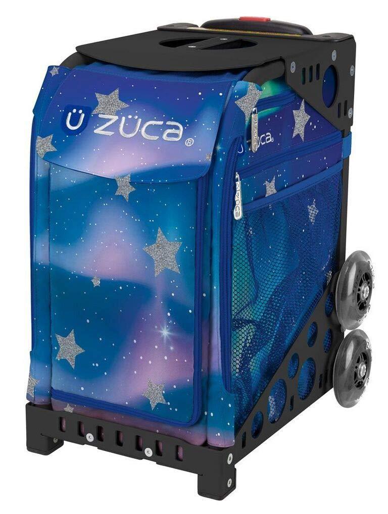 ZUCA Aurora Sport Insert Bag and Black Frame with Flashing Wheels
