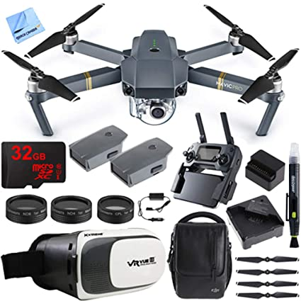 769530037c7 DJI Mavic Pro Quadcopter Drone Fly More Combo Pack with 4K Camera and Wi-Fi