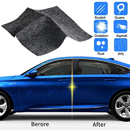 Ansblue Multipurpose Car Scratch Remover Cloth Magic Paint Scratch Removal Car Scratch Repair Kit For Repairing Car Scratches And Light Paint