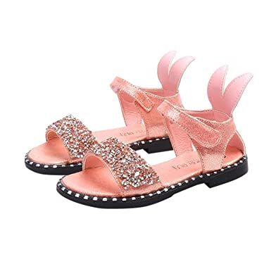 2ff4bdf24bb58 Amazon.com: LNGRY Baby Sandals, Toddler Kids Baby Girls Princess ...
