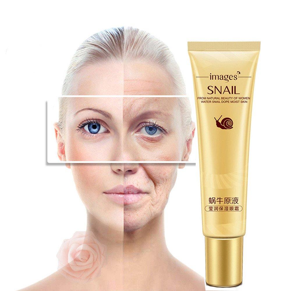 IGEMY Snail Deep Moisturizing Anti-Aging Eye Cream Remove Dark Circles (Gold) Igemy-