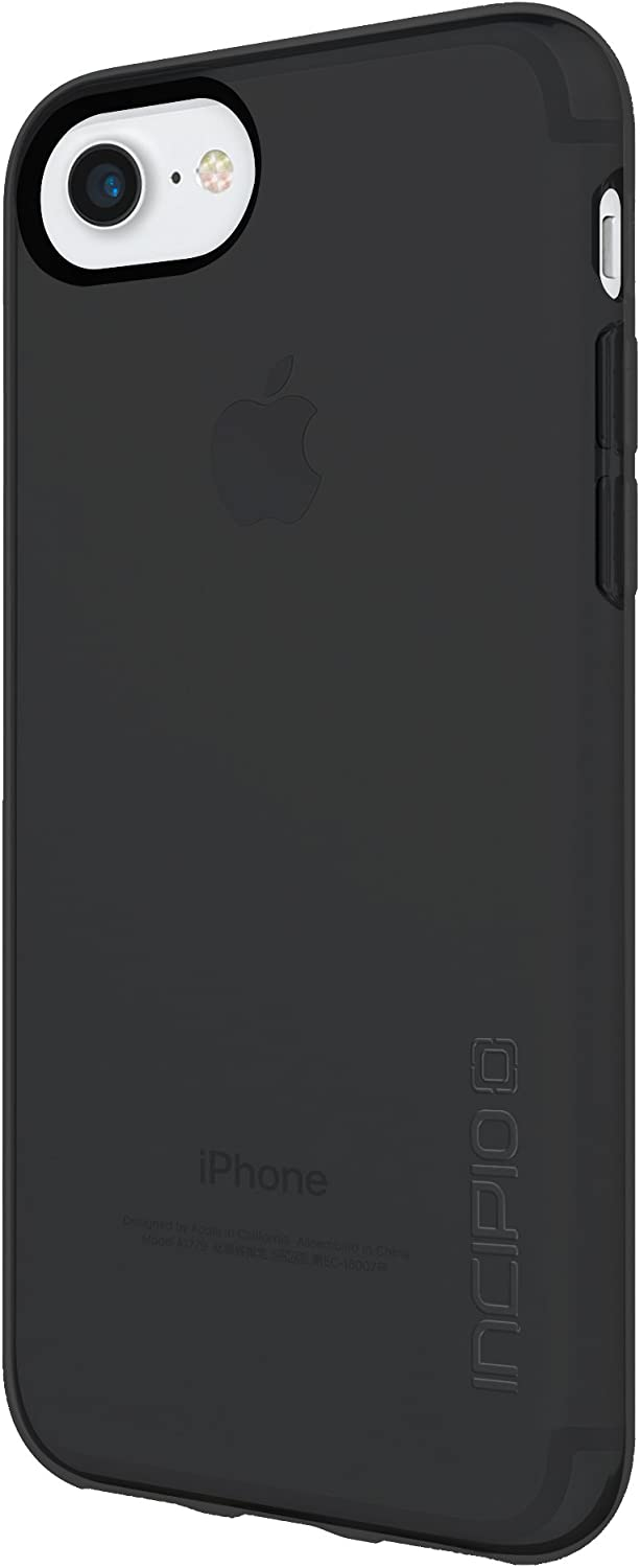 Incipio IPH-1480-BLK NGP Pure iPhone 8 & iPhone 7/6/6s Case with Clear, Shock-Absorbing Polymer for iPhone 8 & iPhone 7/6/6s - Black