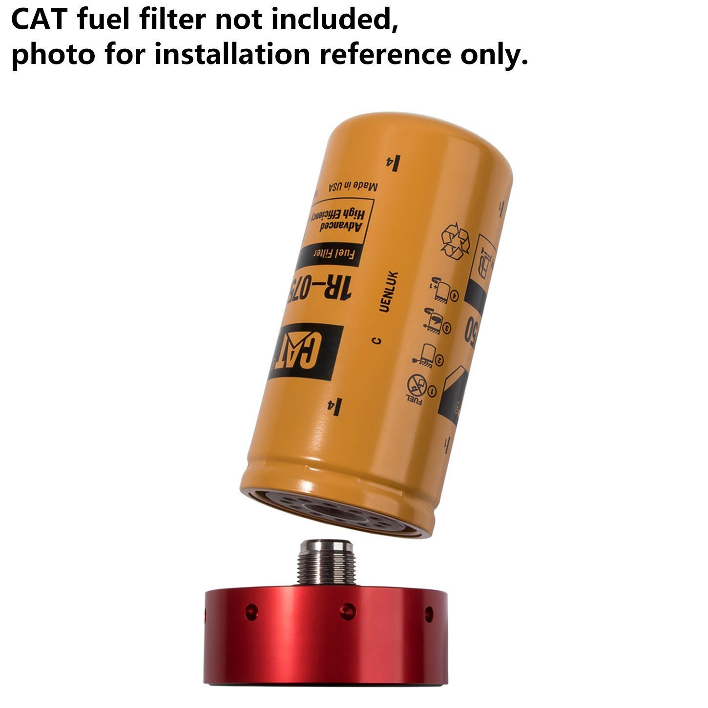 Duramax Cat Fuel Filter Wiring Library 2007 Chevy Silverado Location Amazoncom Opall Adapter For Gmc Diesel 2001