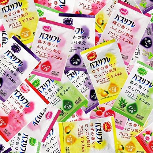 약용 입욕 제 버스 리프레 5종류 의 향기 《아소토》 120 포세트 입욕 제 세트 인기 아로마 복주머니