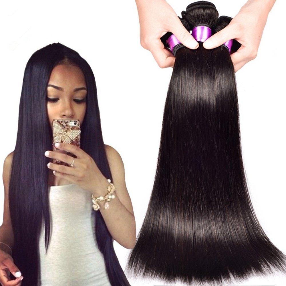 Amazon Danolsmann Hair Brazilian Straight Hair Extension Remy
