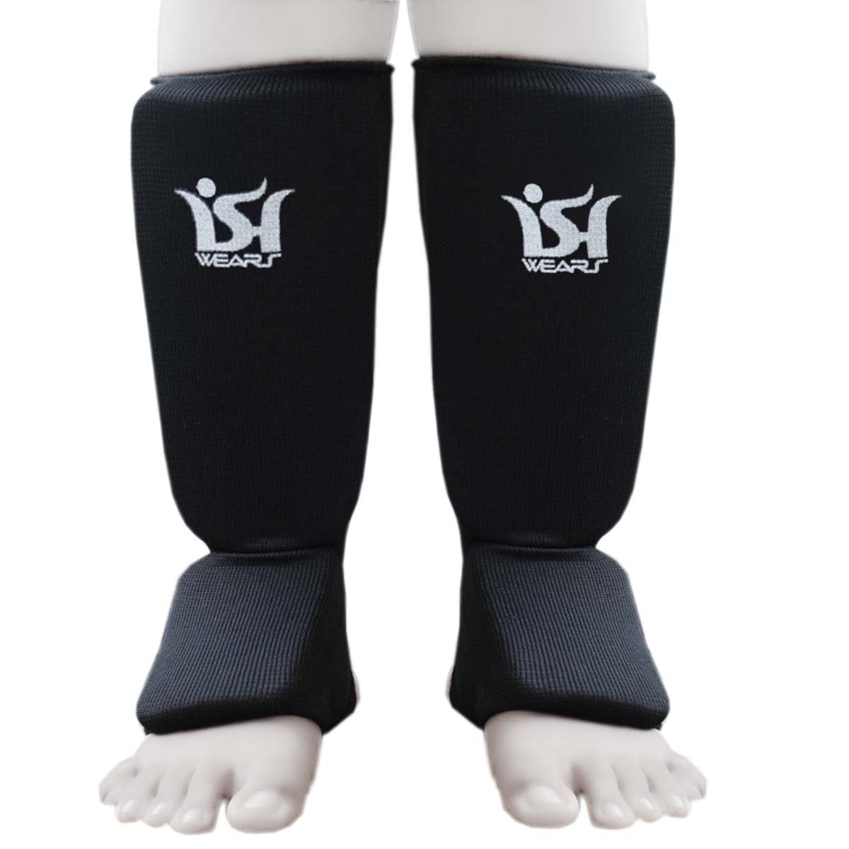New Shin Instep Pads MMA Leg Foot Guard Muay Thai Kick Boxing Guard Protectors