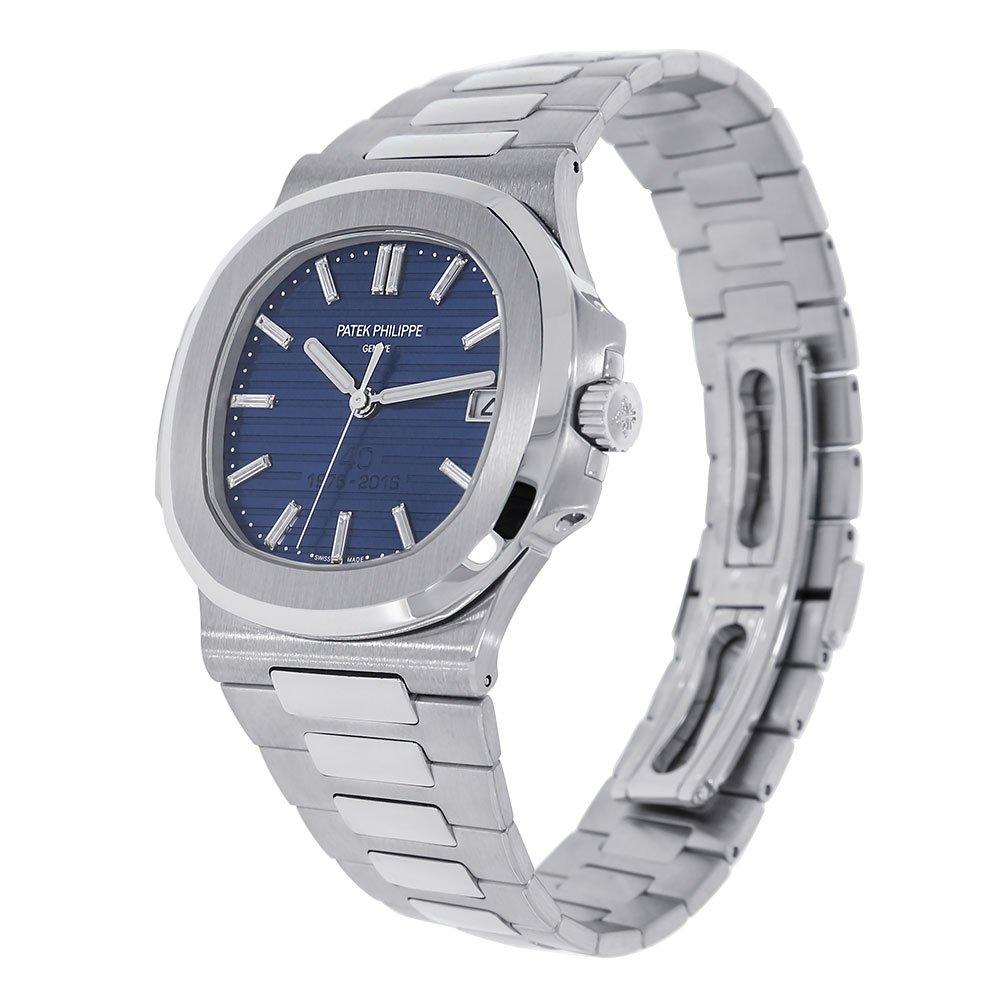 Amazon.com: Patek Philippe Nautilus 40mm Platinum 40th Anniversary Watch 5711-1P: Watches
