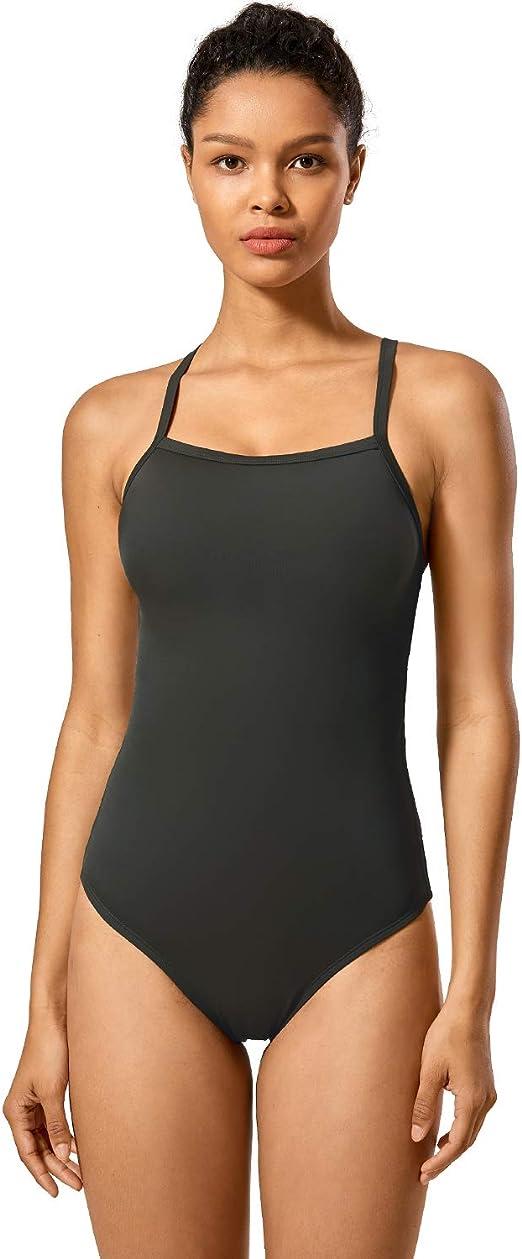 SYROKAN Womens Elite Pro Maxback Sport Training Athletic One Piece Swimsuit
