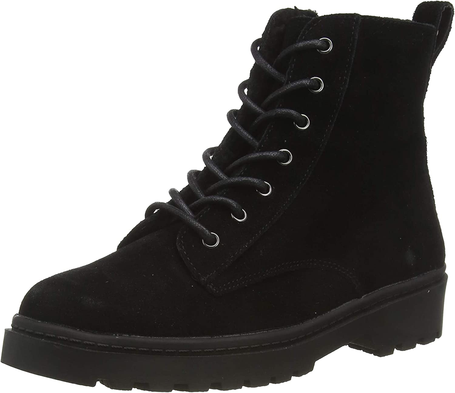 Ola Leather Lace Up Hiker Boots Ankle