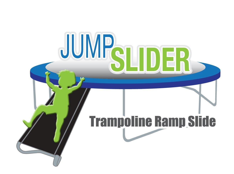 Trampoline Wide 2-Step Ladder with Safety Latch | Trampoline Wide 3-Step Ladder with Safety Latch | Jump Slider Trampoline Slide | [Lifetime Parts Warranty]