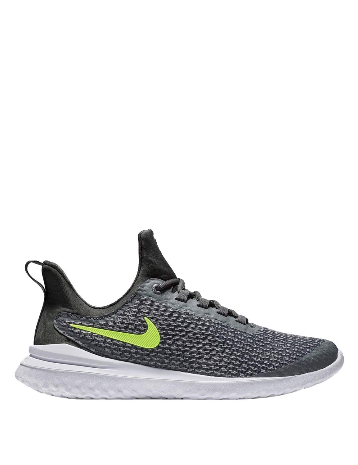 62b9e04e5bb Galleon - NIKE Mens Renew Rival Dark Grey Volt Anthracite Grey Size 8.5