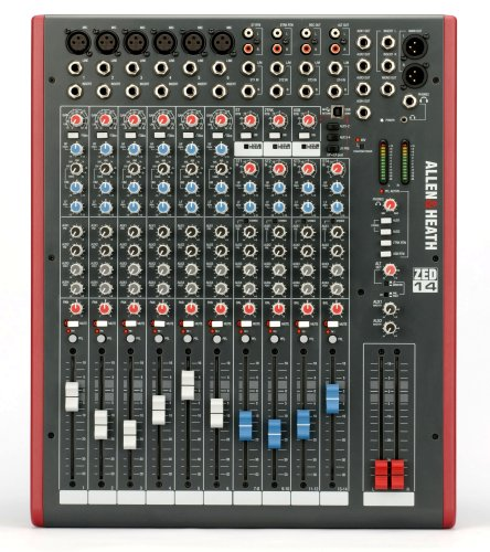 Allen & Heath ZED-14 14-Channel Mixer with USB Interface (Heath 14 Zed Mixer)