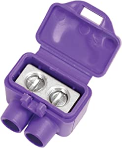 King Innovation 95025 AlumiConn wire connector, 25 pk, Purple