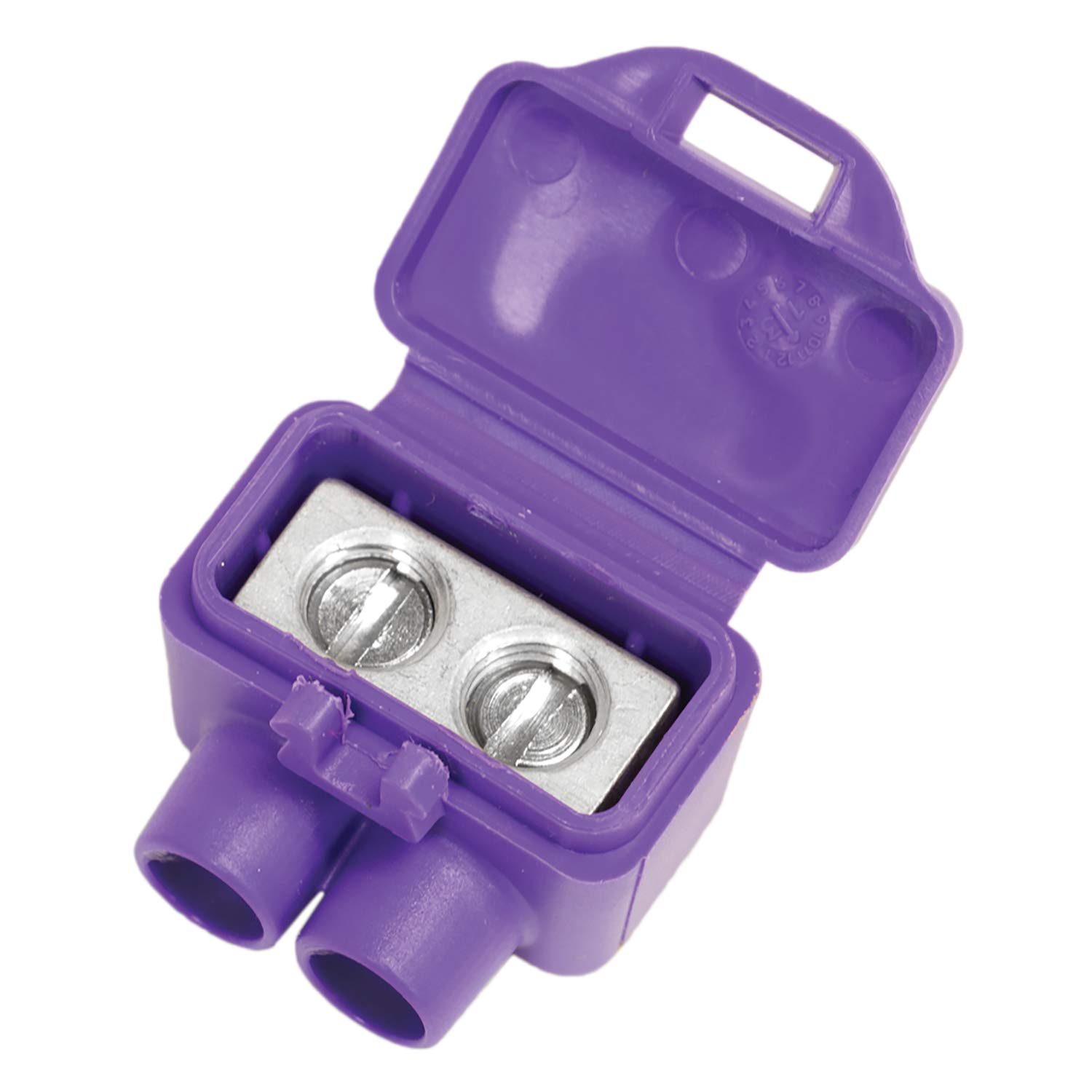 King Innovation 95015 AlumiConn wire connector, 10 pk, Purple