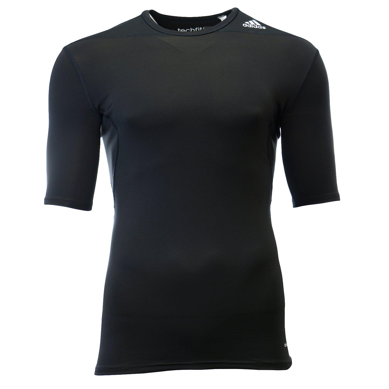 b3c68d4b1e adidas Performance Mens Men's Techfit Compression Baselayer Short Sleeve