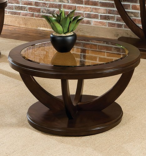 Standard Furniture La Jolla Cocktail Table, Dark Cherry Brown