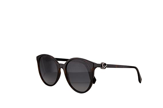 c3b4f3bb8ca1d Image Unavailable. Image not available for. Color  Fendi FF0288 S Sunglasses  Dark Havana ...
