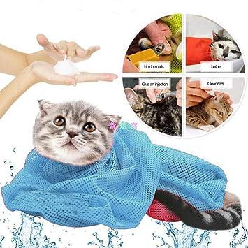 Thanbule - Bolsa de baño para Gatos, Multifuncional ...