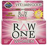 Garden of Life Vitamin Code Raw One for Women Nutritional Supplement, 75 Count, Health Care Stuffs