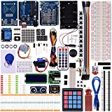 arduino motor shield kit - kuman RFID Master Starter Kit for Arduino UNO R3 projects with Tutorials,RC522 RFID Sensor Module LCD Servo DC Motor K25(Updated Arduino RFID Kit)