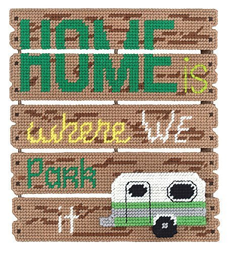 Where We Park It Pallet-ables Plastic Canvas Kit by Janlynn