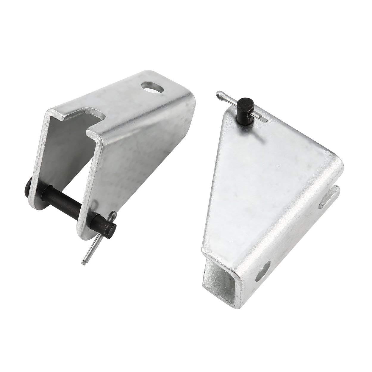 Relabouting 2 Piezas Motor de Varilla de Empuje el/éctrico Soporte de actuador Lineal de Servicio Pesado Motor rec/íproco de CC Soporte de Montaje port/átil